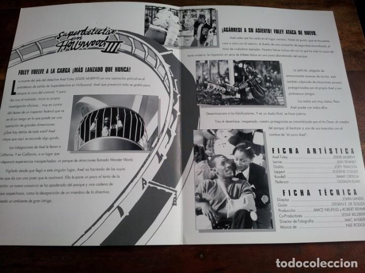 Cine: superdetective en hollywood III - Eddie Murphy, Judge Reinhold - guia original u.i.p año 1994 - Foto 2 - 194339348