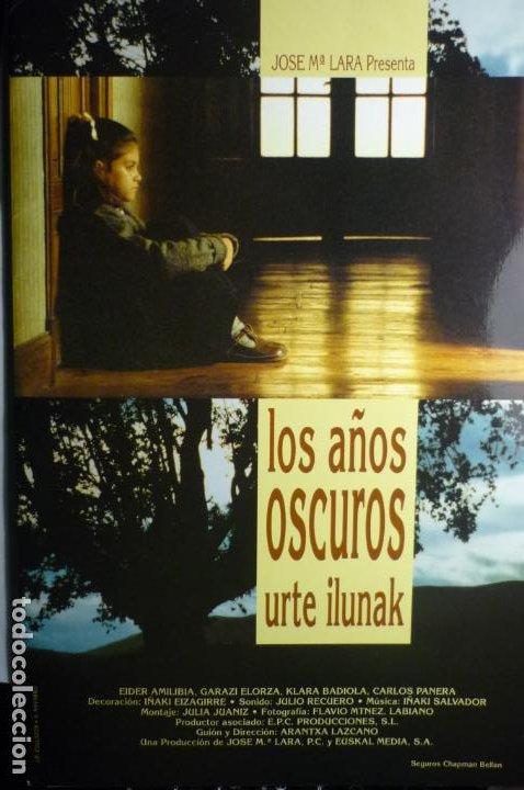 GUIA PRESSBOOK LOS AÑOS OSCUROS (Cine - Guías Publicitarias de Películas )
