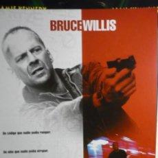 Cine: GUIA DOBLE MERCURY RISING BRUCE WILLIS. Lote 194527265