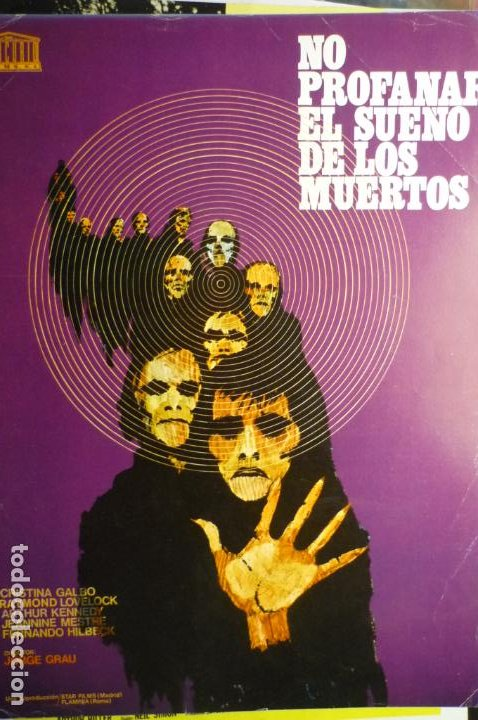 GUIA NO PROFANAR EL SUEÑO DE LOS MUERTOS -ARTHUR KENNEDY (Cine - Guías Publicitarias de Películas )