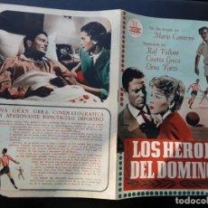 Cine: LOS HÉROES DEL DOMINGO, RAF VALLONE, CIFESA. Lote 194596252