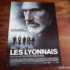 Cine: LES LYONNAIS - GÉRARD LANVIN, TCHÉKY KARYO, DANIEL DUVAL - GUIA ORIGINAL VERTIGO AÑO 2011. Lote 194627938