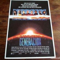 Cine: STAR TREK LA PROXIMA GENERACION - PATRICK STEWART, WILLIAM SHATNER - GUIA ORIGINAL U.I.P AÑO 1994. Lote 194628893