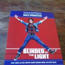 Cine: BLINDED BY THE LIGHT - VIVEIK KALRA, KULVINDER GHIR, MEERA GANATRA - GUIA ORIGINAL WARNER AÑO 2019. Lote 194731100