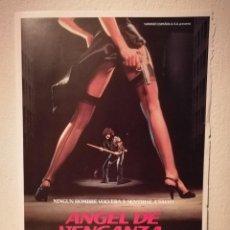 Cine: GUIA ORIGINAL -A4- ANGEL DE VENGANZA - ARCHIVO - ZOE TAMERLIS - STEVE SINGER - ABEL FERRARA. Lote 194743826