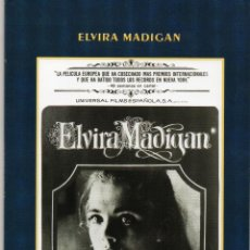 Cine: ELVIRA MADIGAN. LIBRETO DE 34 PÁGINAS CON FOTOGRAFÍAS Y BREVES TEXTOS. Lote 194750108