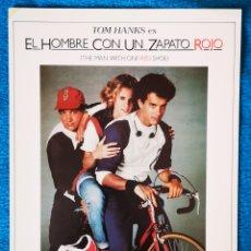 Cine: EL HOMBRE CON UN ZAPATO ROJO. Lote 194765503