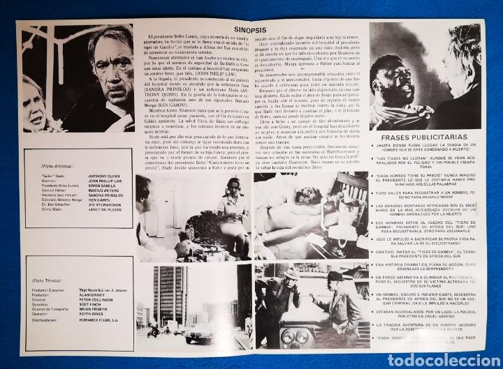 Cine: LOS TIGRES NO LLORAN - Foto 2 - 194867177