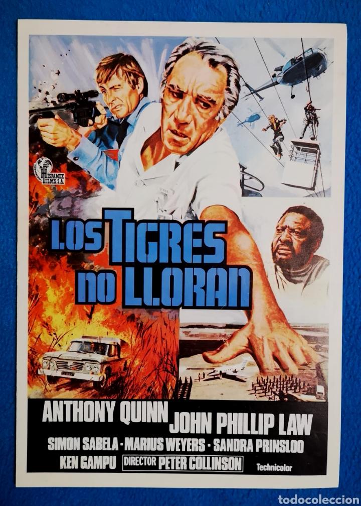 LOS TIGRES NO LLORAN (Cine - Guías Publicitarias de Películas )