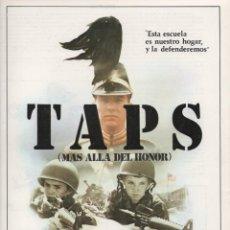 Cine: TAPS (MAS ALLÁ DEL HONOR). Lote 194923020