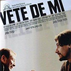 Cine: PRESSBOOK VETE DE MI - VICTOR GARCÍA LEÓN. Lote 195033043