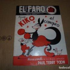 Cine: MAGNIFICO CATALOGO DE PELICULAS CENTURYFOX EL FARO TEMPORADA 1936-37. Lote 195066921