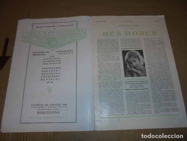 Cine: magnifico catalogo de peliculas hispano foxfilm el faro numero extraordinario 1930-31 - Foto 4 - 195067207
