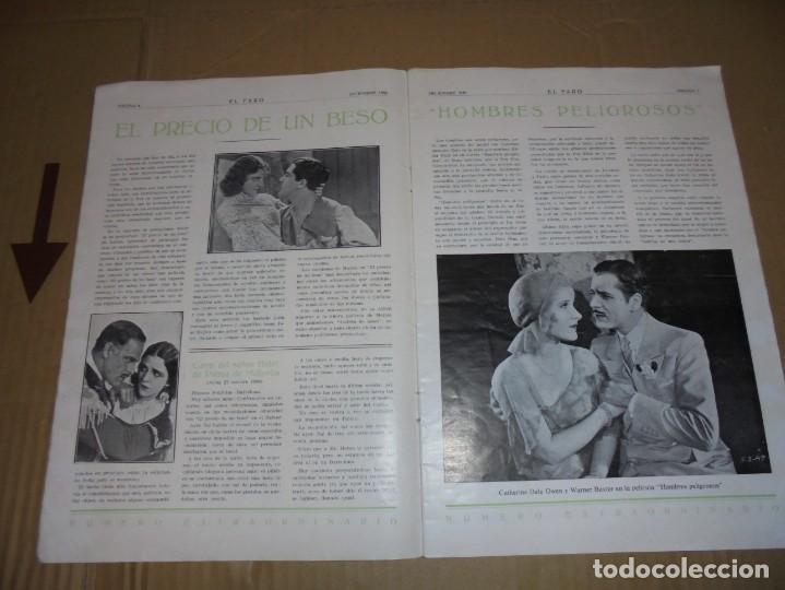Cine: magnifico catalogo de peliculas hispano foxfilm el faro numero extraordinario 1930-31 - Foto 5 - 195067207
