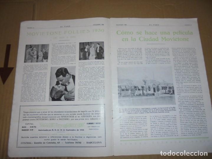 Cine: magnifico catalogo de peliculas hispano foxfilm el faro numero extraordinario 1930-31 - Foto 7 - 195067207