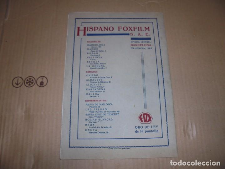 Cine: magnifico catalogo de peliculas hispano foxfilm el faro numero extraordinario 1930-31 - Foto 21 - 195067207