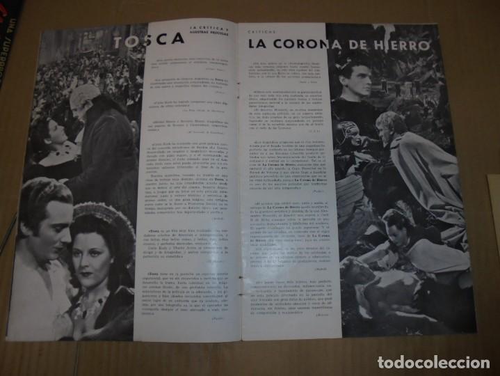Cine: magnifico antiguo catalogo de peliculas cifesa temporada 1942-43 - Foto 4 - 195103201