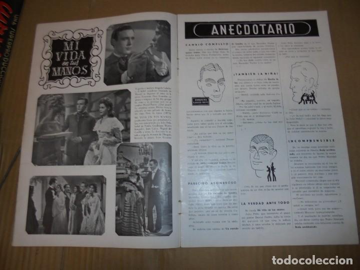 Cine: magnifico antiguo catalogo de peliculas cifesa temporada 1942-43 - Foto 6 - 195103201