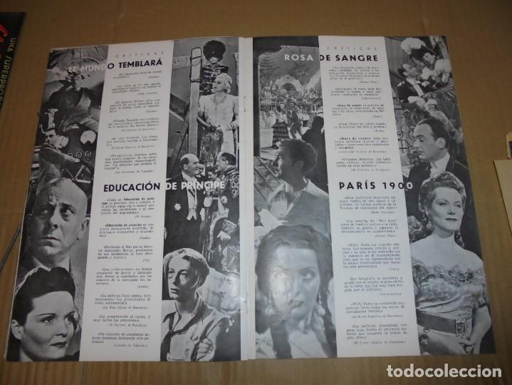 Cine: magnifico antiguo catalogo de peliculas cifesa temporada 1942-43 - Foto 10 - 195103201