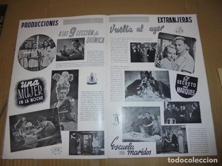 Cine: magnifico antiguo catalogo de peliculas cifesa temporada 1942-43 - Foto 11 - 195103201