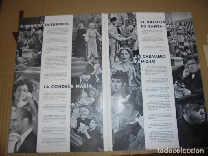 Cine: magnifico antiguo catalogo de peliculas cifesa temporada 1942-43 - Foto 13 - 195103201