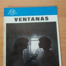 Cine: N--GUIA DE LA PELICULA -- VENTANAS. Lote 195118761