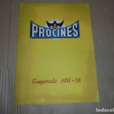 Cine: MAGNIFICO CATALOGO DE CINE PROCINES TEMPORADA 1957-58. Lote 195150976