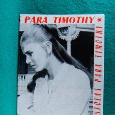 Cine: 7 SIETE PISTOLAS PARA TIMOTHY-ROMULO GIROLAMI-SEAN FLYNN-FERNANDO SANCHO-IDA GALLI-16 PAGINAS-1966. . Lote 195231367