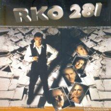 Cine: RKO 281. GUIA DOSSIER ORIGINAL ESTRENO. 12 PAGINAS. TAMAÑO 22 X 22.. Lote 195322166