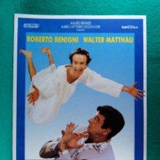Cine: EL PEQUEÑO DIABLO-IL PICCOLO DIAVOLO-ROBERTO BENIGNI-WALTHER MATTHAU-STEFANIA SANDRELLI-2 PAGIN-1988. Lote 195323383