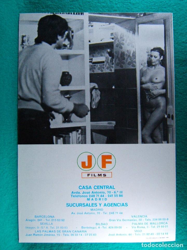 Cine: PERDON SEÑORITA ¿ ES USTED NORMAL...?-UMBERTO LENZI-RENZO MONTAGNINI-RAY LOVELOCK-4 PAGINAS-1980. - Foto 3 - 195329336