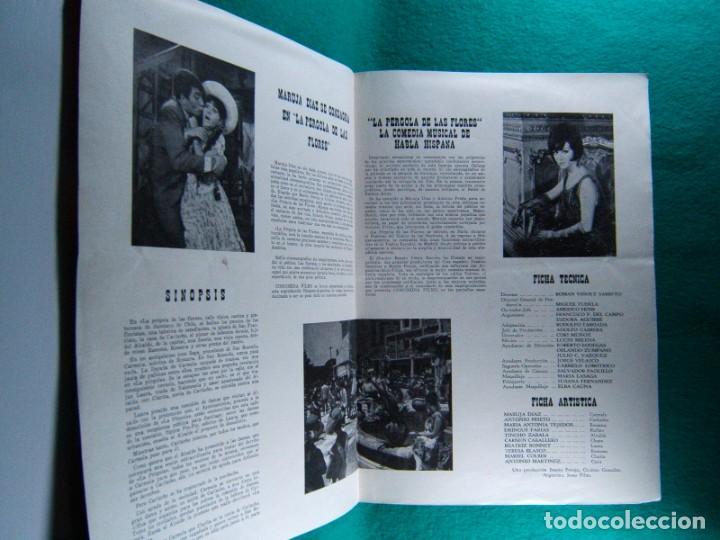 Cine: LA PERGOLA DE LAS FLORES-VIÑOLY BARRETO-MARUJITA DIAZ-ANTONIO PRIETO-ILUSTRA VILLAMAYOR-4 PAGIN-1965 - Foto 2 - 195329710