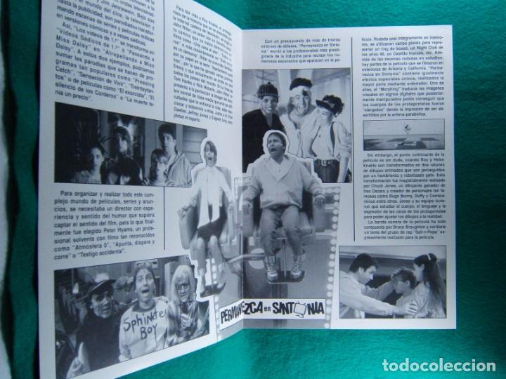 Cine: PERMANEZCA EN SINTONIA-STAY TUNED-PETER HYAMS-JOHN RITTER-PAM DAWBER-DAVID TOM-4 PAGINAS-1992. - Foto 2 - 195330280