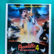 Cine: PESADILLA EN ELM STREET 4-NIGHTMARE ON...THE DREAM MASTER-RENNY HARLIN-ANNETTE BENSON-2 PAGINAS-1988. Lote 195354910
