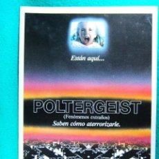 Cine: POLTERGEIST-FENOMENOS EXTRAÑOS-TOBE HOOPER-CRAIG T. NELSON-JOBETH WILLIAMS-4 PAGINAS-1982. . Lote 195388123