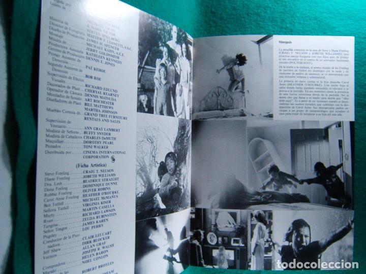 Cine: POLTERGEIST-FENOMENOS EXTRAÑOS-TOBE HOOPER-CRAIG T. NELSON-JOBETH WILLIAMS-4 PAGINAS-1982. - Foto 2 - 195388123