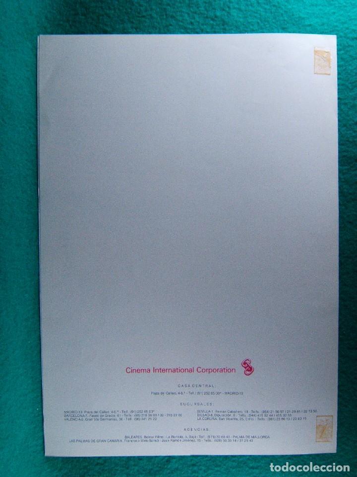 Cine: POLTERGEIST-FENOMENOS EXTRAÑOS-TOBE HOOPER-CRAIG T. NELSON-JOBETH WILLIAMS-4 PAGINAS-1982. - Foto 3 - 195388123