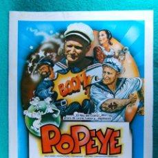 Cine: POPEYE-ROBERT ALTMAN-WALT DISNEY-ROBIN WILLIAMS-SHELLEY DUVALL-RAY WALSTON-PAUL DOOLEY-2 PAGINA-1980. Lote 195388491