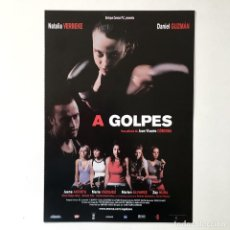 Cine: CINE ESPAÑOL - A GOLPES - GUÍA PUBLICITARIA FICHA TÉCNICA. Lote 195439228