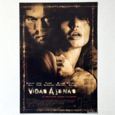 Cine: CINE PELÍCULA - VIDAS AJENAS - ANGELINA JOLIE - GUÍA PUBLICITARIA FICHA TÉCNICA. Lote 195439932
