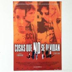 Cine: CINE PELÍCULA - COSAS QUE NO SE OLVIDAN STORYTELLING TODD SOLONDZ - GUÍA PUBLICITARIA FICHA TÉCNICA. Lote 195440115