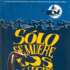 Cine: SOLO SE MUERE DOS VECES. GUIA ORIGINAL ESTRENO.. Lote 195495477