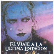 Cine: EL VIAJE A LA ULTIMA ESTACION. GUIA ORIGINAL ESTRENO.. Lote 195495826