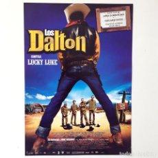 Cine: LOS DALTON CONTRA LUCKY LUKE - CINE PELÍCULA - GUÍA PUBLICITARIA FICHA TÉCNICA. Lote 195522976