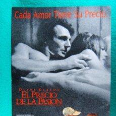 Cine: EL PRECIO DE LA PASION-THE GOOD MOTHER-LEONARD NIMOY-DIANE KEATON-LIAM KEESON-2 PAGINAS-1988. . Lote 195536211