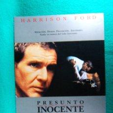 Cine: PRESUNTO INOCENTE-PRESUMED INNOCENT-ALAN J PAKULA-HARRISON FORD-BREIAN DENNEHY-RAUL JULIA-2 PAG-1990. Lote 195536750