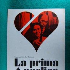 Cine: LA PRIMA ANGELICA-CARLOS SAURA-ELIAS QUEREJETA-JOSE LUIS LOPEZ VAZQUEZ-LINA CANALEJAS-4 PAGINAS-1974. Lote 195537676