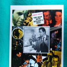 Cine: LAS PROSTITUTAS DEL INSPECTOR BOGART-THE MAN WITH BOGART'S FACE-F L MORRIS-CENSURADA-2 PAGINAS-1982.. Lote 195726886