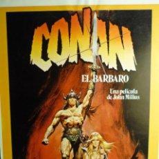 Cine: GUIA CONAN EL BARBARO - ARNOLD SCHWARZENEGGER. Lote 257702120
