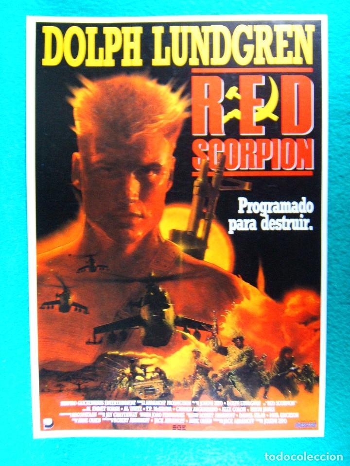Red Scorpion: Dolph Lundgren, M. Emmet Walsh, Al White, T